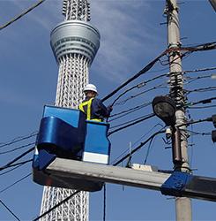 通信・CATV関連設備の施工
